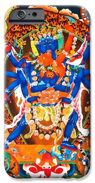 Best Sellers -  - Tibetan Buddhism iPhone Cases - Heruka iPhone Case by Lanjee Chee