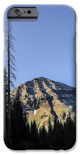 Asymmetrical iPhone Cases - Hesperus Mountain iPhone Case by Aaron Spong