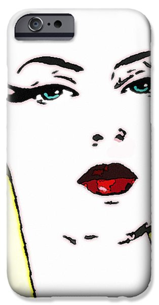 Hi Res Lady iPhone Case by Chuck Staley