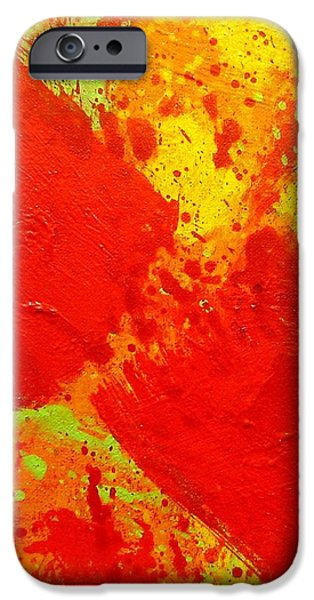Abstract Movement iPhone Cases - Hiatus iPhone Case by John  Nolan