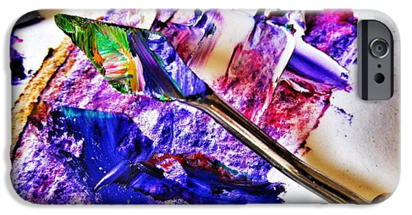 Working Artist iPhone Cases - Hidden Art iPhone Case by Marianna Mills