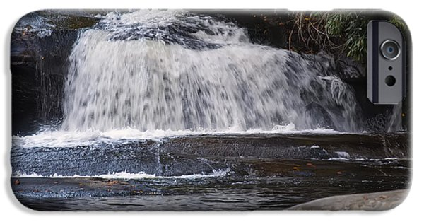 Horse iPhone Cases - Hidden Fall On The Horse Pasture River 3 iPhone Case by Chris Flees