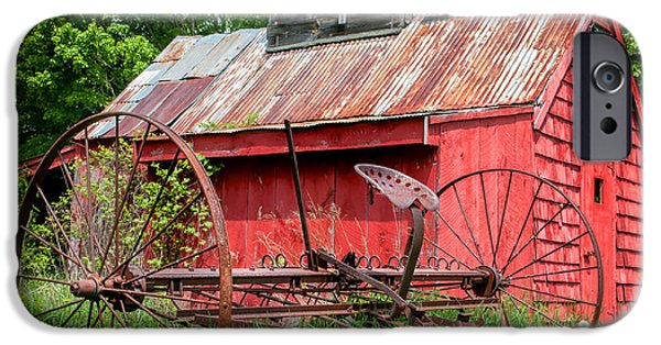 Farm Stand iPhone Cases - Hidden Gems of the White Mountains iPhone Case by Thomas Schoeller