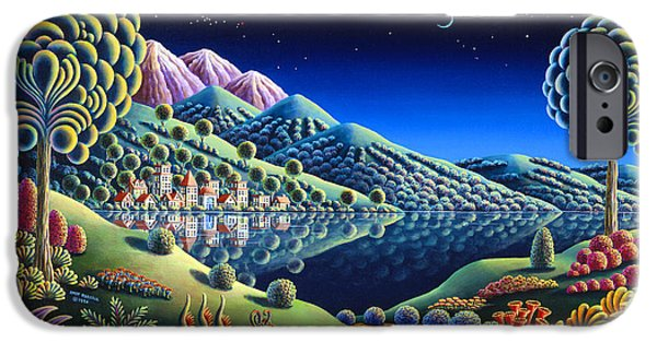 Out Of This World iPhone Cases - Hidden Lake 22 iPhone Case by Andy Russell