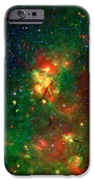 Hidden Nebula 2 iPhone Case by The  Vault - Jennifer Rondinelli Reilly