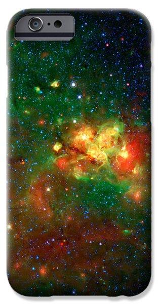 Hidden Nebula iPhone Case by The  Vault - Jennifer Rondinelli Reilly