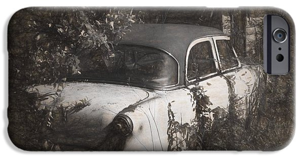 Rusted Cars iPhone Cases - Hidden Treasure II iPhone Case by Richard Rizzo
