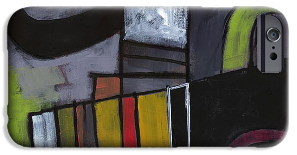 Abstract Expressionism iPhone Cases - Hidden Treasures iPhone Case by Douglas Simonson
