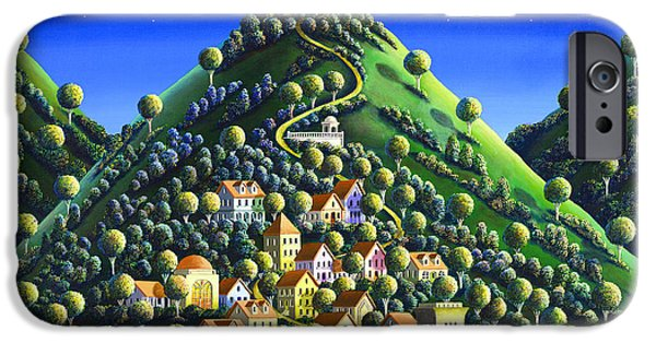 Poetic iPhone Cases - Hidden Village 21 iPhone Case by Andy Russell