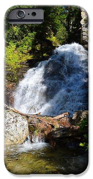 Randy Moss iPhone Cases - Hidden waterfall 4 iPhone Case by Randy Giesbrecht