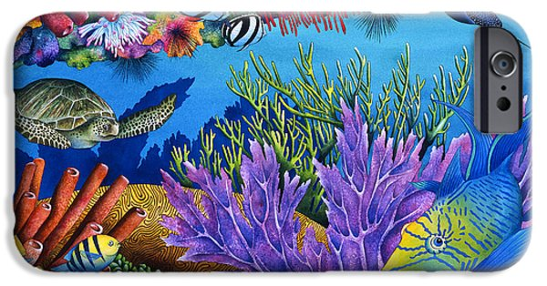 Recently Sold -  - Sea iPhone Cases - Hide And Seek iPhone Case by Carolyn Steele