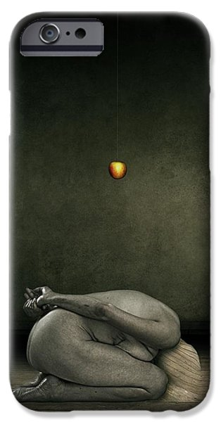 Surrealism Digital Art iPhone Cases - Hide my self iPhone Case by Johan Lilja