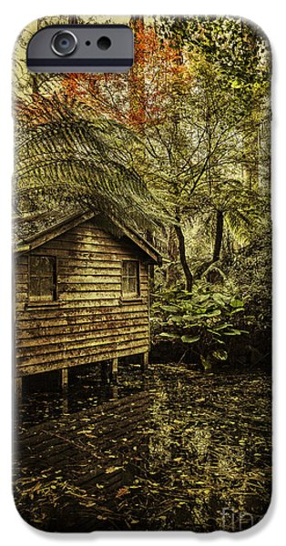 Boathouses iPhone Cases - Hideaway iPhone Case by Andrew Paranavitana