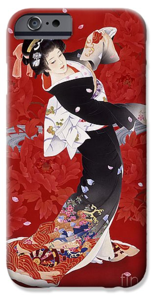 Make Up iPhone Cases - Hien iPhone Case by Haruyo Morita