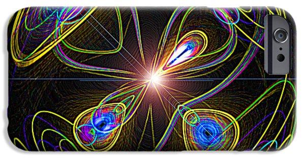 Sam Sheats iPhone Cases - Higgs Boson iPhone Case by Samuel Sheats