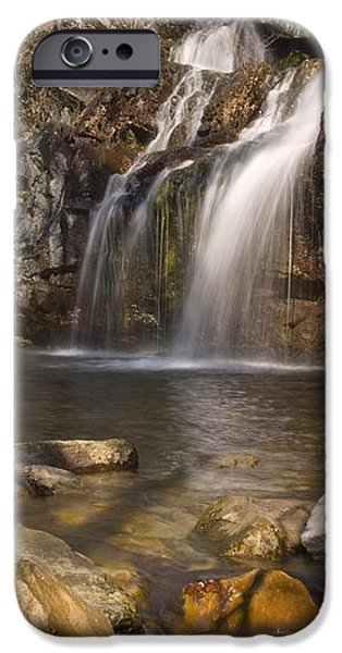 High Falls Talledega National Forest Alabama iPhone Case by Charles Beeler