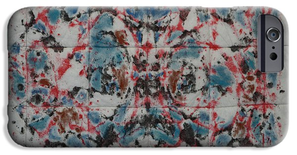 Sheets Tapestries - Textiles iPhone Cases - High Frequency iPhone Case by Jymmy Forest