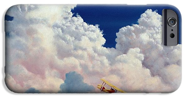 Michael Swanson iPhone Cases - High in the Halls of Freedom iPhone Case by Michael Swanson