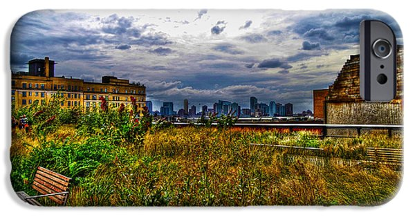 Best Sellers -  - Hudson River iPhone Cases - High Line on the Hudson iPhone Case by Randy Aveille