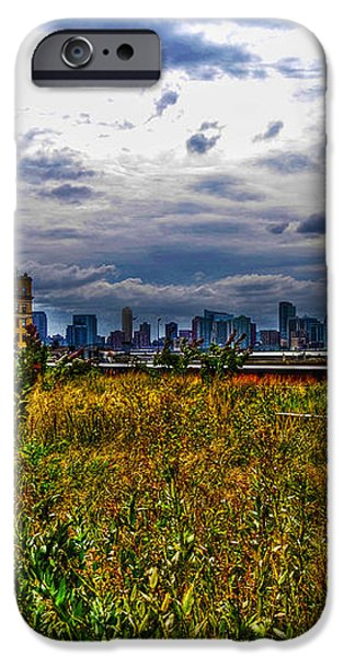 High Line on the Hudson iPhone Case by Randy Aveille