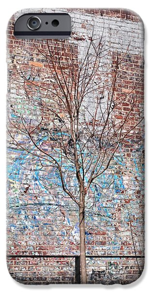 New York Photographs iPhone Cases - High Line Palimpsest iPhone Case by Rona Black