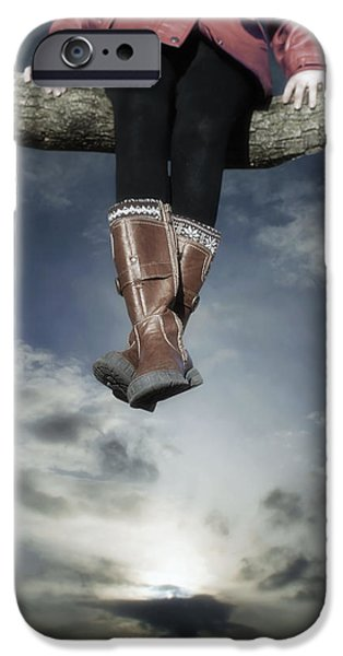high over the world iPhone Case by Joana Kruse