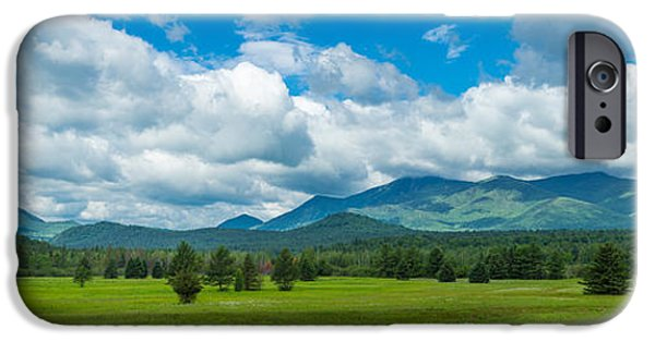 Park Scene iPhone Cases - High Peaks Area Of The Adirondack iPhone Case by Panoramic Images