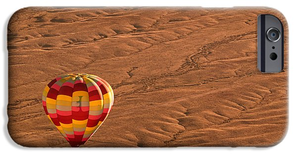 Hot Air Balloon iPhone Cases - High Road iPhone Case by Keith Berr