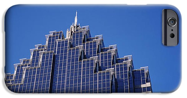 Built Structure iPhone Cases - High Section View Of A Building iPhone Case by Panoramic Images