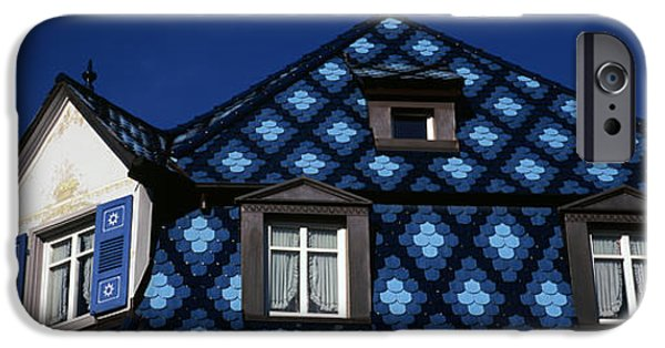 Built Structure iPhone Cases - High Section View Of A House, Germany iPhone Case by Panoramic Images