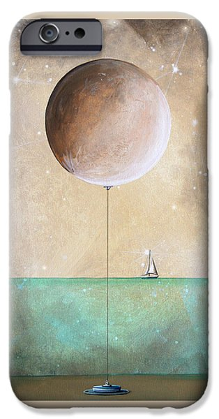 Star Nursery Paintings iPhone Cases - High Tide iPhone Case by Cindy Thornton