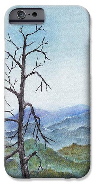 Forest iPhone Cases - Highland iPhone Case by Anastasiya Malakhova