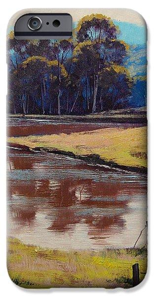 Highland Dam iPhone Case by Graham Gercken