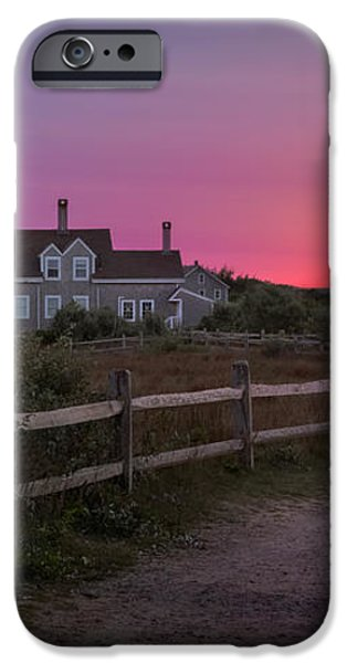 Highland Light iPhone Case by Bill  Wakeley