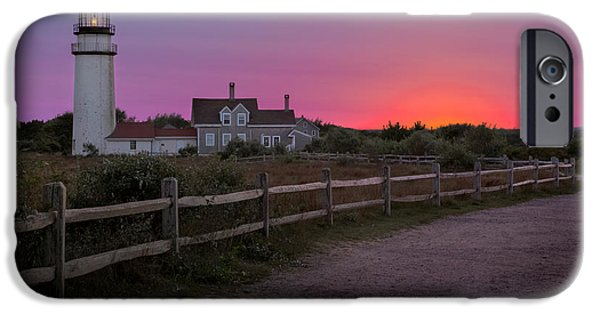 New England Lighthouse iPhone Cases - Highland Light iPhone Case by Bill  Wakeley