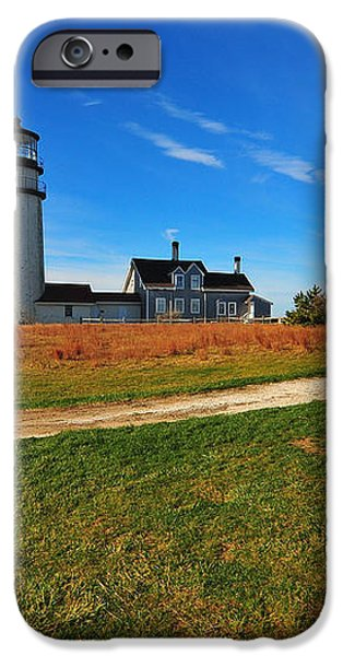 Highland Point Light iPhone Case by Catherine Reusch  Daley