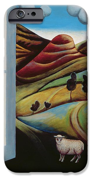 Open iPhone Cases - Highland View iPhone Case by Jerzy Marek