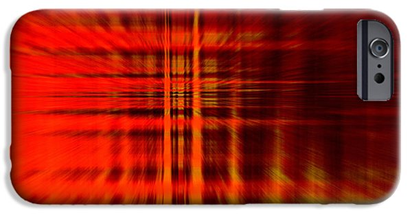 Abstract Digital Art iPhone Cases - Highway to Hell iPhone Case by Stefan Kuhn