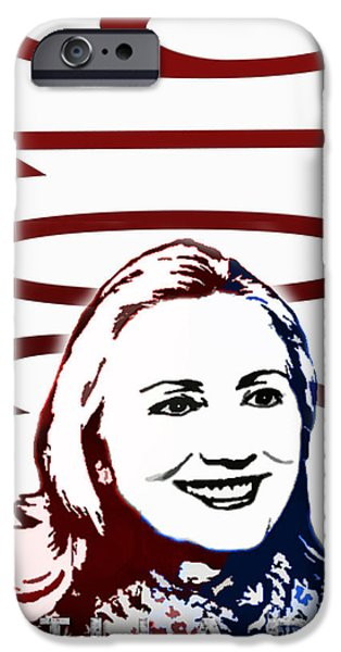 Hillary 2016 iPhone Case by Jost Houk