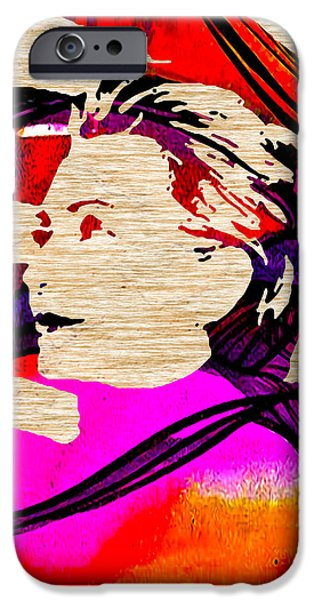 Hillary Clinton iPhone Case by Marvin Blaine