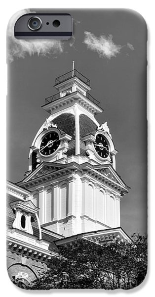 Conservative iPhone Cases - Hillsdale College Central Hall Cupola iPhone Case by University Icons
