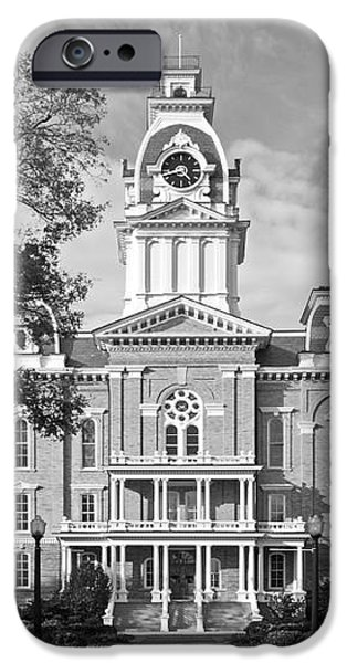 Hillsdale College Central Hall iPhone Case by University Icons