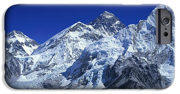 Mountains iPhone Cases - Himalaya Mountains, Nepal iPhone Case by Panoramic Images