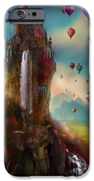 Hot Air Balloons iPhone Cases - Hinchangtor iPhone Case by Aimee Stewart