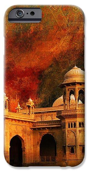 Hindu Gymkhana iPhone Case by Catf