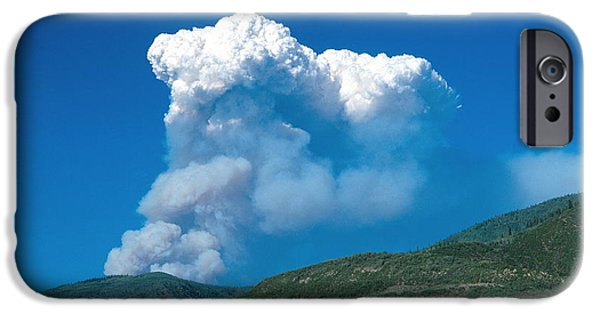 High Park Wildfire iPhone Cases - Hinman Fire iPhone Case by Chris Selby