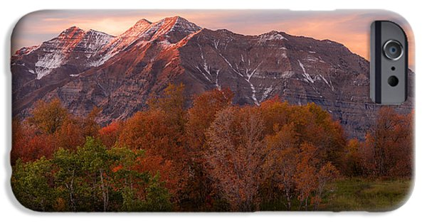 Meadow Photographs iPhone Cases - Hint of Fall iPhone Case by Chad Dutson