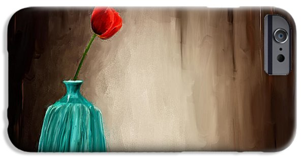 """""""textured Art"""" iPhone Cases - Hint Of Passion iPhone Case by Lourry Legarde"""