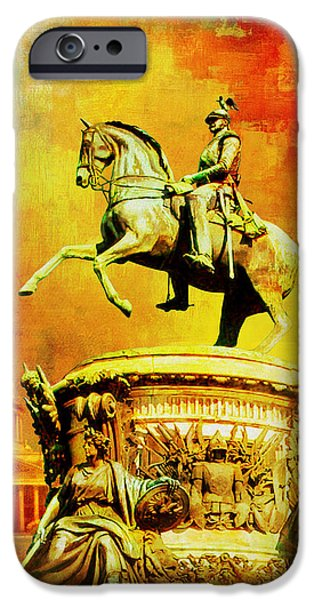 Russian iPhone Cases - Historic Centre of Saint Petersburg and Related Groups of Monuments iPhone Case by Catf