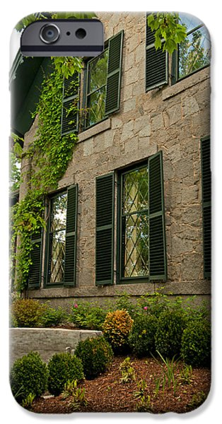 Concord Ma. iPhone Cases - Historic Concord Home iPhone Case by Paul Mangold